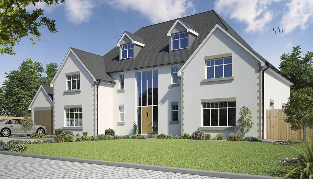 Ghylls Lap 6 Bedroom House Design Solo Timber Frame