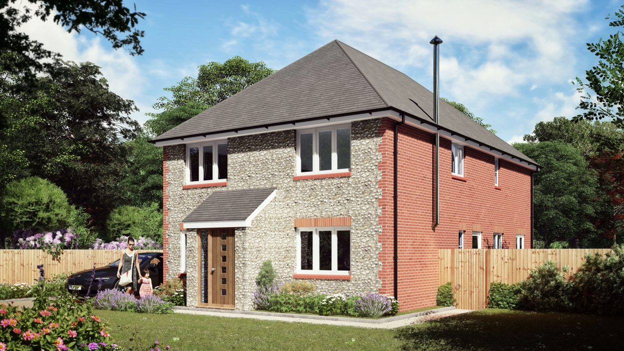 Hollies 4 Bedroom House Design