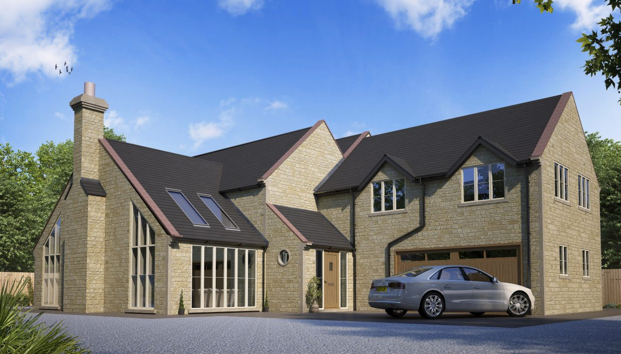 Self build timber frame house designs range solo timber for New build 4 bed house