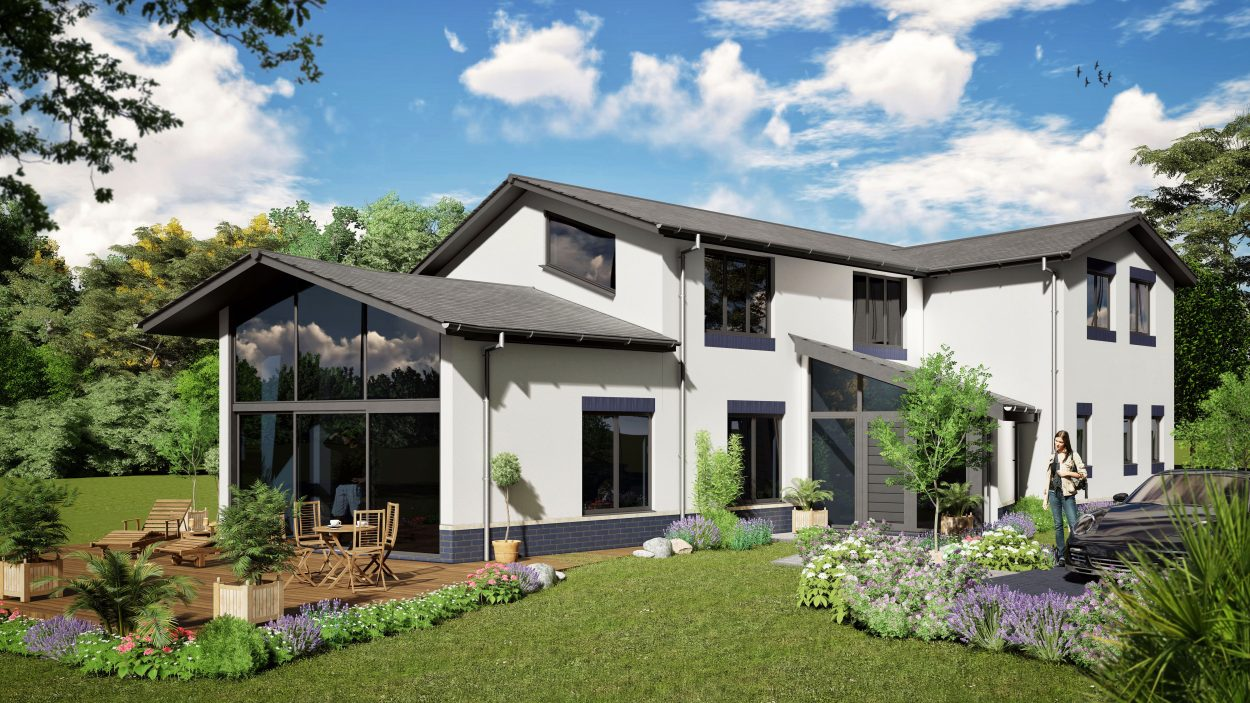Poundgate 4 Bedroom House Design