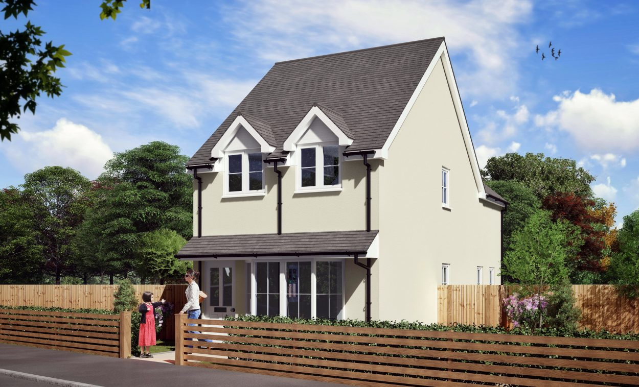 Townsend 2 – 2 Bedroom House Design