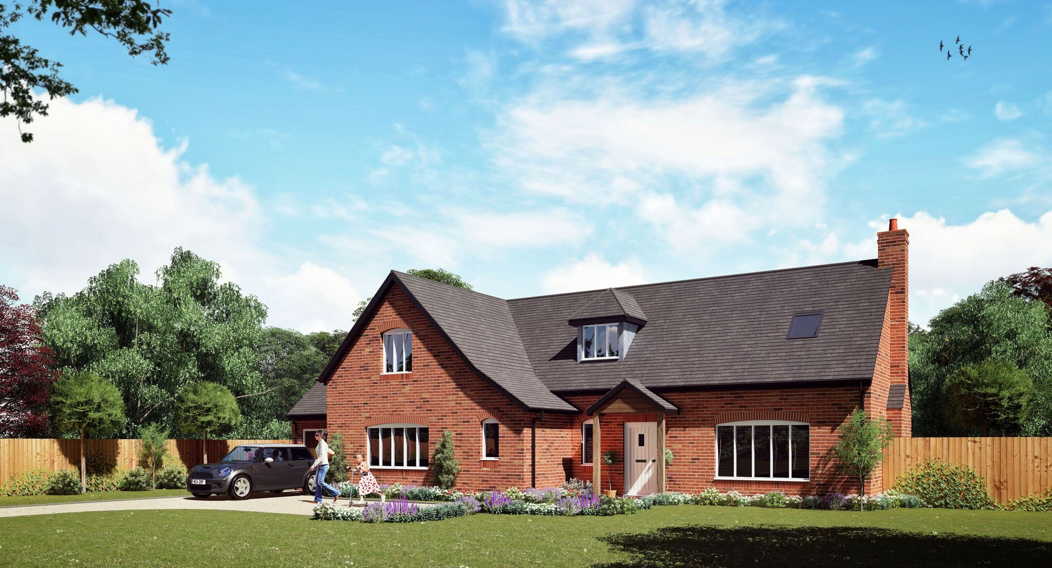 Self build timber frame house designs range solo timber for New build house designs