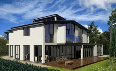 Self Build Timber Frame House Designs Range Solo Timber Frame