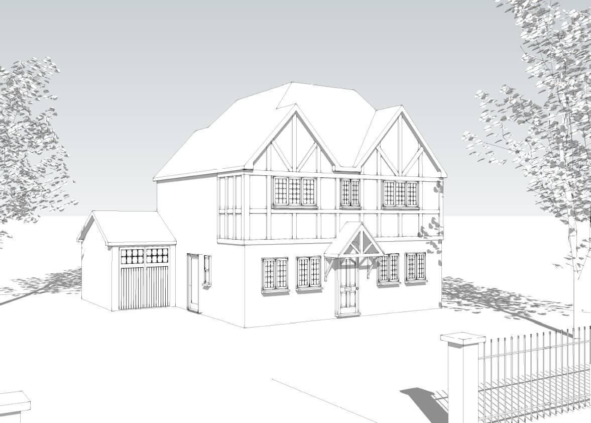 Kingstanding 4 Bedroom House Design