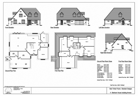 Terrific 4 Bedroom Timber Frame House Plans Images Best