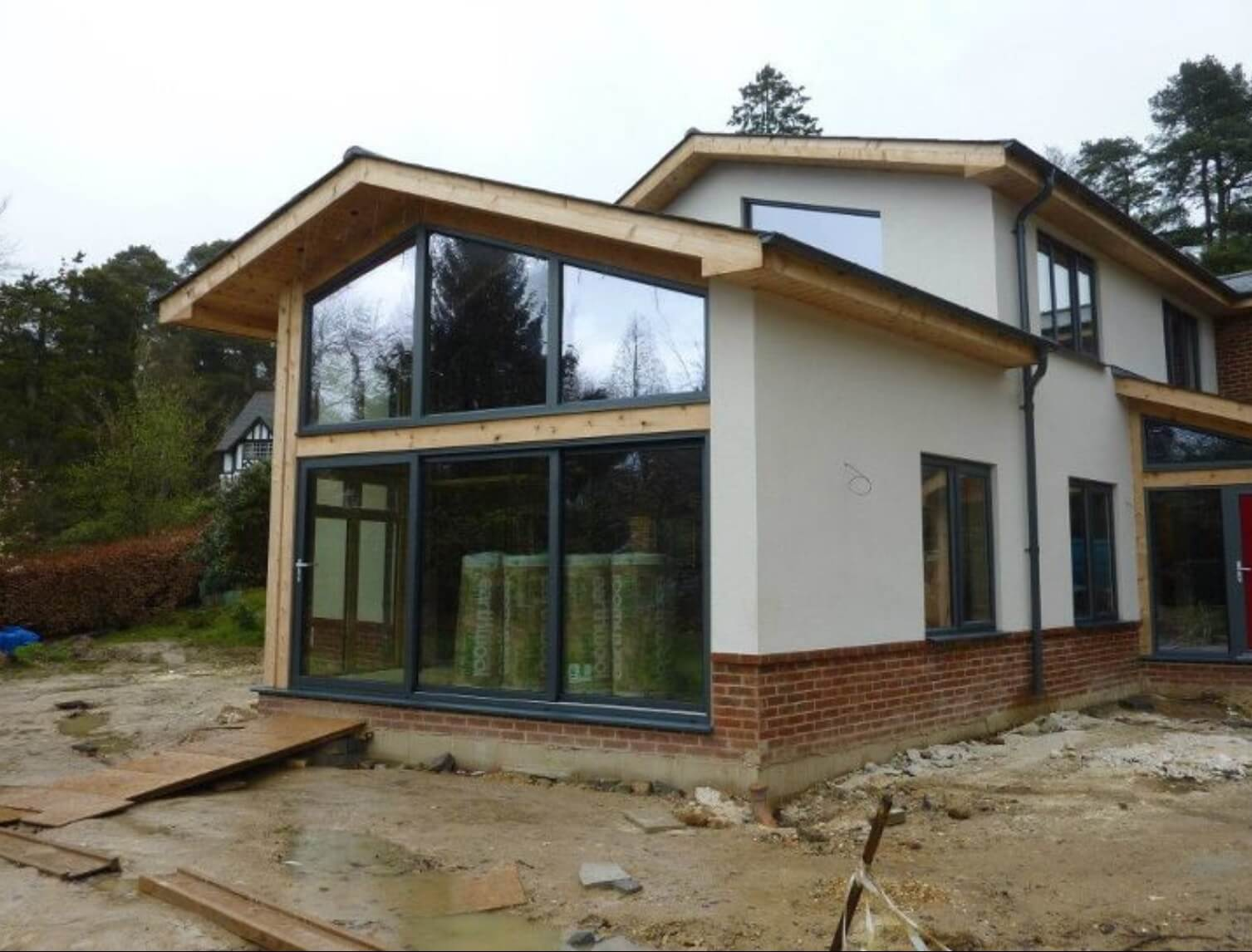 Poundgate 4 bedroom house design solo timber frame Contemporary house designs uk