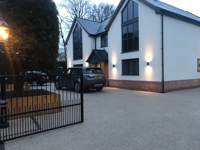 Bespoke contemporary house in Cheshire